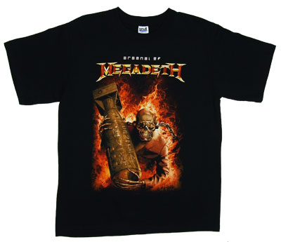 Arsenal Of Megadeth - Megadeth T-shirt