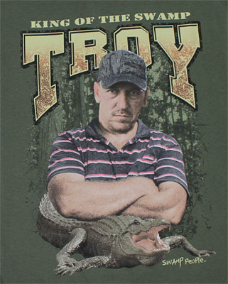 King Of The Swamp - Swamp People T-shirt