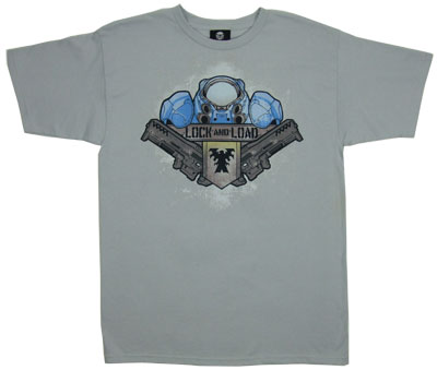 Lock And Load - Starcraft II T-shirt