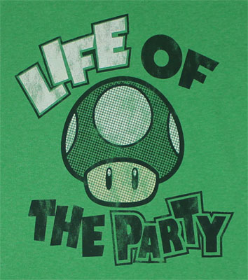 Life Of The Party - Nintendo T-shirt