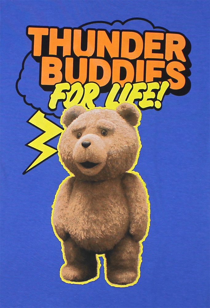 Thunder Buddies For Life! - Ted Sheer Women's T-shirt