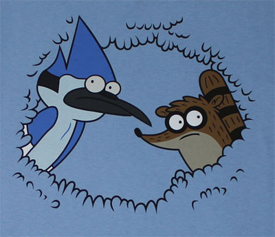 Peeking - Regular Show T-shirt