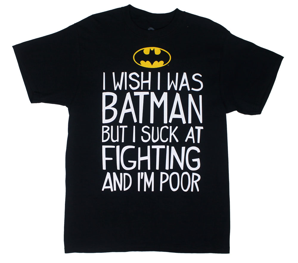 I Suck At Fighting - DC Comics T-shirt