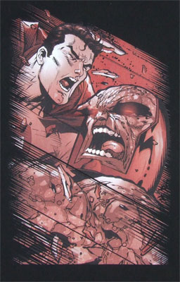 Supes vs Darkseid - DC Comics T-shirt