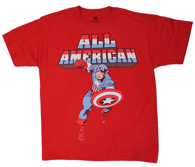 All American - Marvel Comics Youth T-shirt