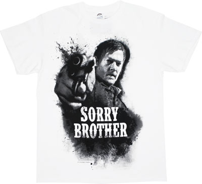 Sorry Brother - Walking Dead T-shirt
