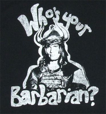 Who's Your Barbarian? - Conan The Barbarian Sheer T-shirt