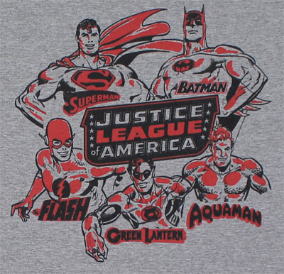 The League - DC Comics T-shirt