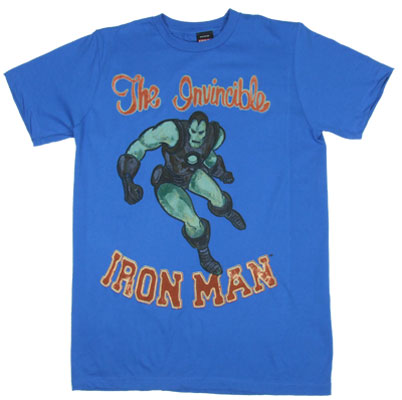 Iron Man Watercolor - Marvel Comics Sheer T-shirt