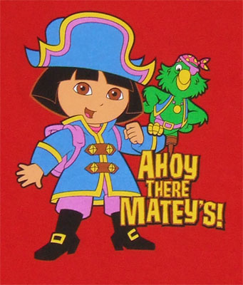 Ahoy There Mateys - Dora The Explorer Youth T-shirt