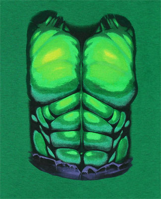 Incredible Hulk Costume - Marvel Comics Toddler T-shirt
