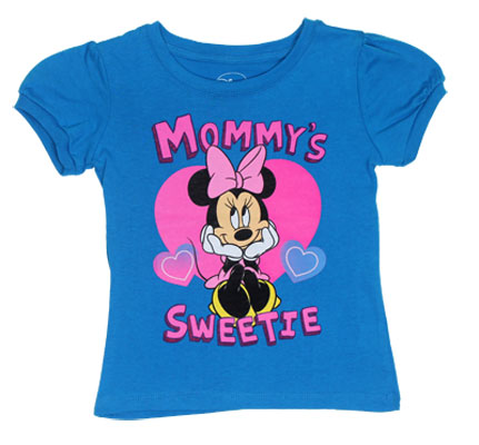 Mommy's Sweetie - Disney Girls Infant And Toddler T-shirt