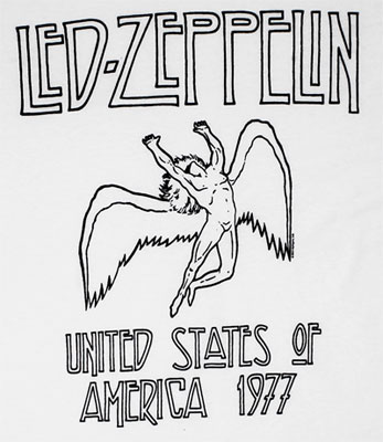 US 1977 - Led Zeppelin T-shirt