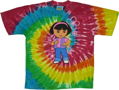 Dora With Flowers - Dora The Explorer Youth T-shirt