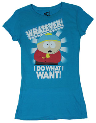 I Do What I Want - South Park Sheer Women&#039;s T-shirt