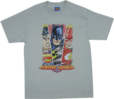 Hero Triptych - DC Comics T-shirt