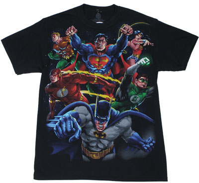 Good And Evil - DC Comics Reversible T-shirt