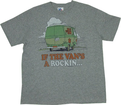 If The Van's A Rockin... - Scooby Doo - Junk Food Men's T-shirt