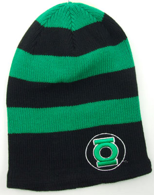 Green Lantern Logo - DC Comics Knit Hat