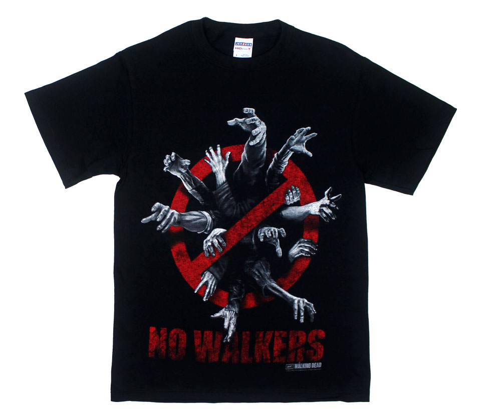 No Walkers - Walking Dead T-shirt