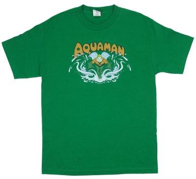 Aquaman Splash - DC Comics T-shirt