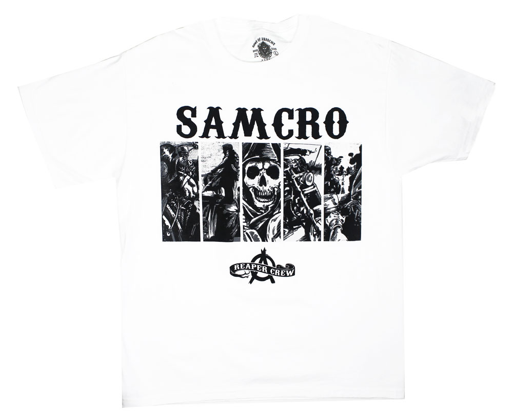 Five Box Panels - Sons Of Anarchy T-shirt