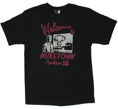 Welcome To Nuketown - Call Of Duty Black Ops T-shirt