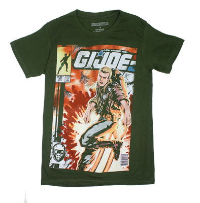 Comic Cover - G.I. Joe Sheer T-shirt