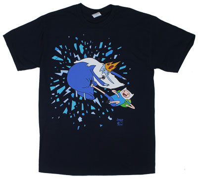 Finn Vs Ice King - Adventure Time T-shirt
