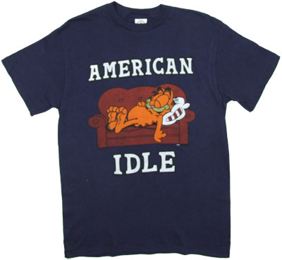 American Idle - Garfield T-shirt