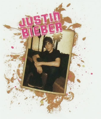 Justin Bieber Photo - Justin Bieber Sheer Girls T-shirt
