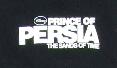 Prince Of Persia The Sands Of Time T-shirt