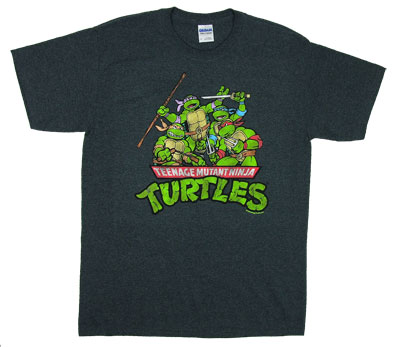 Group Shot - Teenage Mutant Ninja Turtles T-shirt
