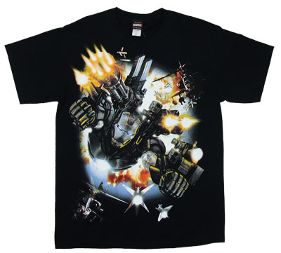 War Machine Flying - Iron Man T-shirt