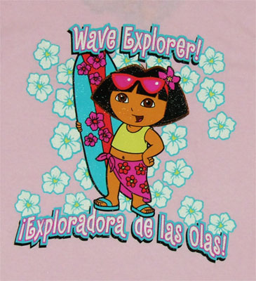 Wave Explorer - Dora The Explorer Youth T-shirt