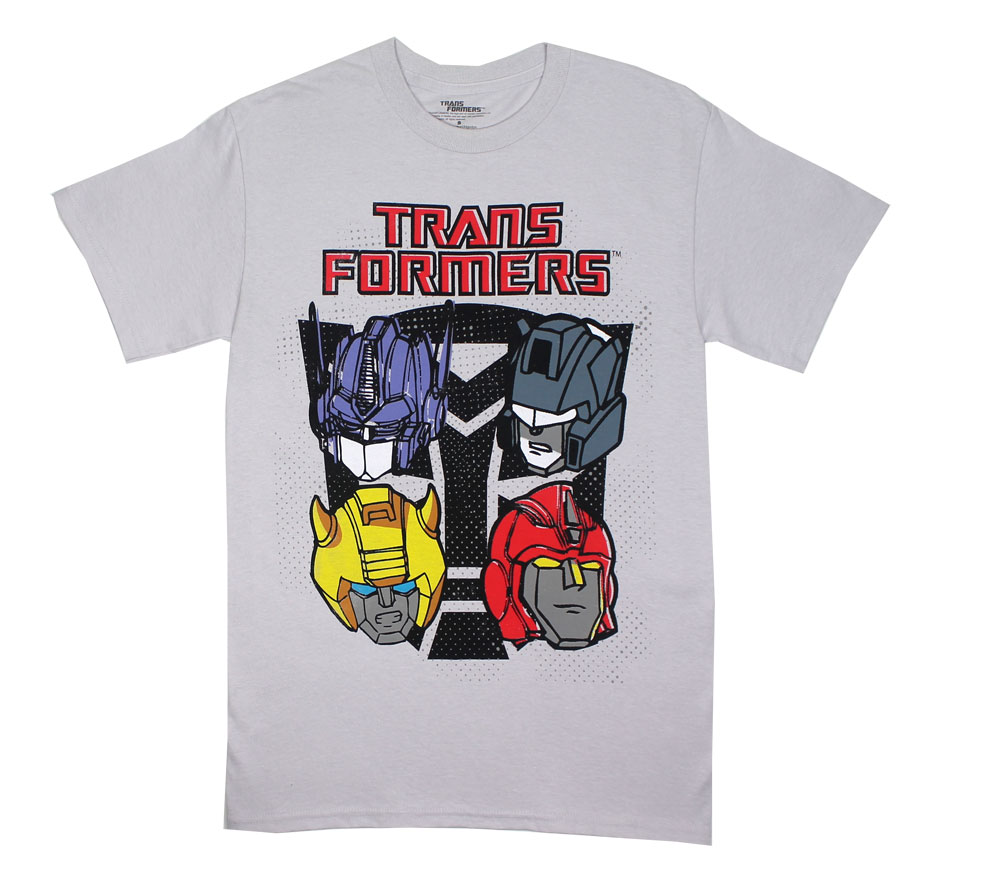 Four Faces - Transformers T-shirt