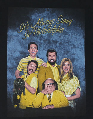 Happy Holidays - It's Always Sunny In Philadelphia T-shirt