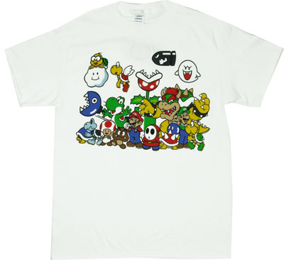 Nintendo Montage - Nintendo T-shirt