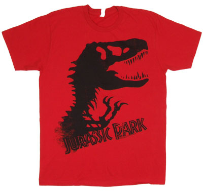 Silhouette - Jurassic Park Sheer T-shirt