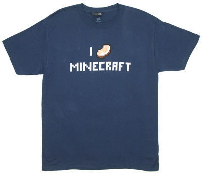 I Porkchop Minecraft - Minecrafr T-shirt