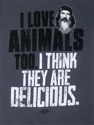 I Love Animals - Duck Dynasty T-shirt
