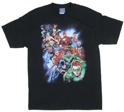 Heroes Unite - Justice League - DC Comics T-shirt