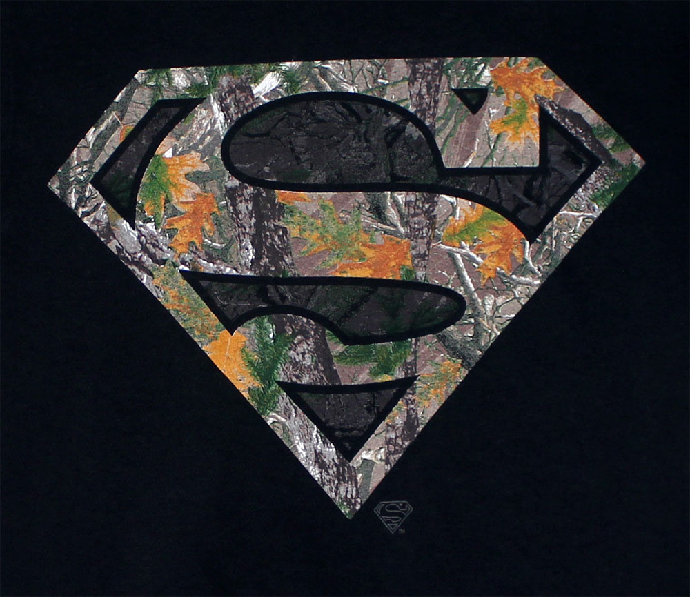 Woodsy Superman Logo - DC Comics T-shirt