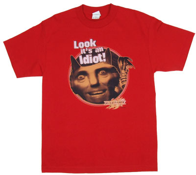Look It's An Idiot - Mirrormask T-shirt