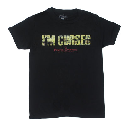I'm Cursed - Pirates Of The Carribean Sheer T-shirt