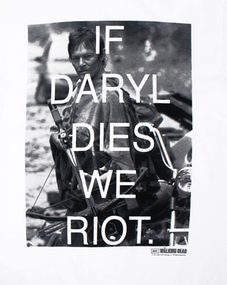 Darryl Riot - Walking Dead T-shirt