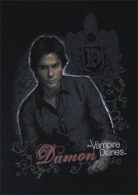 Damon - Vampiire Diaries Sheer Women's T-shirt
