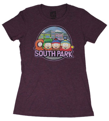 South Park Sheer Women&#039;s T-shirt