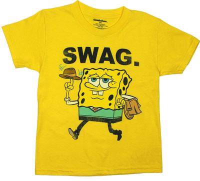 Swag. - Spongebob Squarepants Juvenile T-shirt