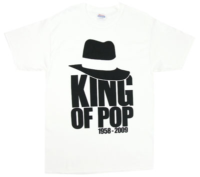 King Of Pop 1958-2009 - Michael Jackson T-shirt
